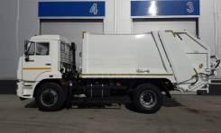 Hidro-Mak. Мусоровоз Hidro-MAK с объемом кузова 10 м3 на шасси Камаз-43255-3010