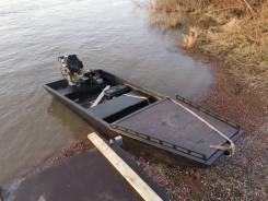 Лодка болотоход tundraboat 400. 2019 год, длина 4,00м., двигатель подвесной, 27,00л.с., бензин