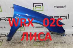Крыло Subaru Impreza GDA/GDB [Лиса, WRX, правое, переднее, широкое,02с]