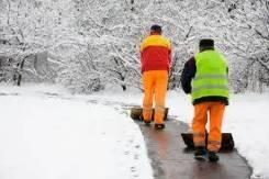 Услуги и работы по уборке тротуаров от наледи и снега