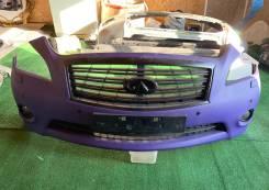 Передний бампер с туманками на Infiniti m37 m25 m56или Nissan FUGA Y51