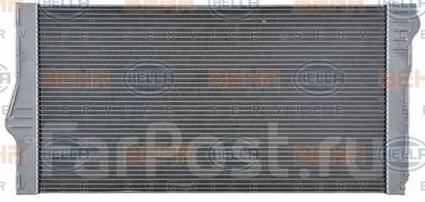 Радиатор охлаждения двигателя. BMW 7-Series, F01, F02, F03, F04, F01LCI BMW 5-Series, F10, F11, F18 BMW 5-Series Gran Turismo, F07 N55B30, N54B30