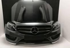 Ноускат перед фары крылья Mercedes w205 c205