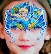 Волшебный аквагрим на Новый год, день рождения, праздник!