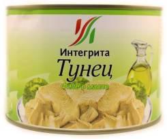 Тунец филе в масле 1,7 кг