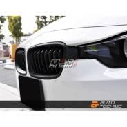 Решетка радиатора (черный мат) BMW F30 (BM-0179-MB) AutoTecknic