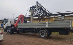 Fassi F215A.0. КМУ 9 тонн .22 на шасси Isuzu Forward 18 тонн Евро-5, 8 000 куб. см., 10 000 кг., 4x2