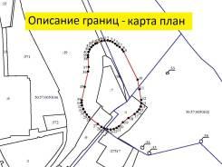 Описание границ или карта-план для санитарно защитной зоны