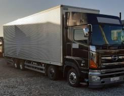 Грузоперевозки фургон 60 куб г/п 14 тн. (изотермический)