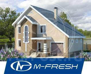 M-fresh Afrodita (Проект каменного дома со встроенным гаражом! ). 200-300 кв. м., 2 этажа, 4 комнаты, бетон