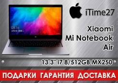 "Xiaomi Mi Notebook Air 13.3. 13.3"", ОЗУ 8 Гб, диск 512Гб, WiFi, Bluetooth"