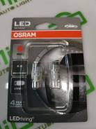 """Лампа W5W (Т10) """"красная"""" Osram 2880R-02B"""