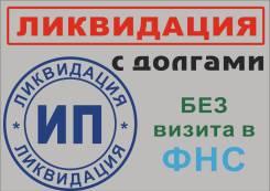 Ликвидация ИП с долгами, без визита в ФНС.