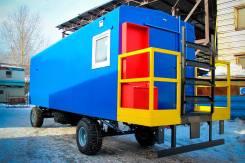 Автосистемы AC-4HD. Вагон-дом на 8 человек: 6000х2500 мм (6х2.5 метра). Под заказ