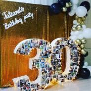 Фотозона на день рождения, свадьбу, юбилей