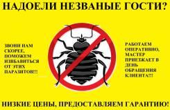 Уничтожение клещей, тараканов, клопов, плесени, крыс. 100% Гарантия