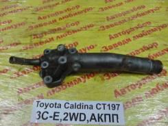 Фланец двигателя системы охлаждения Toyota Caldina Toyota Caldina 1999.04