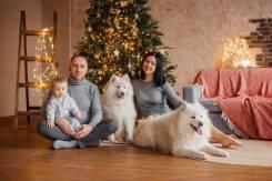 Семейные фотосессии - 5000 р. включая студию! Подарочные сертификаты