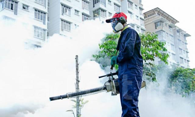 Потравим, уничтожим тараканов клопов. Туманом Без Запаха. Pest control