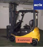 Komatsu FB15-12. $ Вилочный погрузчик без наработки, 1 500кг., Электрический