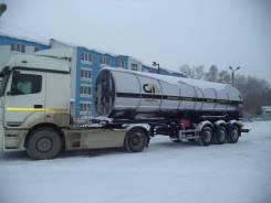 GT7 ППЦТУ-25. Цистерна для углекислоты GT7 Ппцту-25 (ЦЖУ-25), 24 365кг. Под заказ