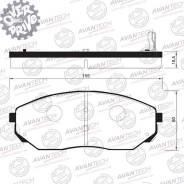 Колодки тормозные дисковые Avantech (противоскрипная пластина в компл. ) Avantech AV116