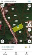 Продам Участок Седанка 10 соток ИЖС Собственность Ж1. 1 000кв.м., собственность, электричество, вода