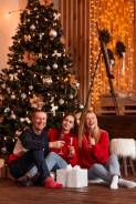 Семейные, новогодние фотосессии, Love story. Акция 2000 час!