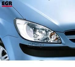 Защита Передних Фар Прозрачная Hyundai Getz 05- EGR арт. EGR3528