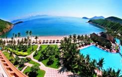 Вьетнам. Нячанг. Пляжный отдых. Роскошный курортный отель на берегу моря Diamond BAY Resort & SPA!