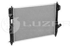 Радиатор охлаждения двигателя. Daewoo Gentra ЗАЗ Вида Chevrolet Aveo, T250, T255 L14, L44, L95, LDT, LHQ, LMU, LQ5, LV8, LX6, LXT, LXV, LY4