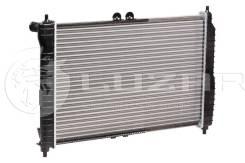 Радиатор охлаждения двигателя. Daewoo Gentra Chevrolet Aveo, T200, T250, T255 L14, L44, L91, L95, LBF, LBJ, LDT, LHQ, LMU, LQ5, LV8, LX5, LX6, LXT, LX...