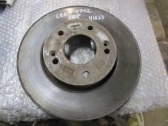 Диск тормозной передний вентилируемый Kia Ceed 2007-2012; Coupe (GK)