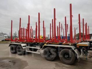 АПС 854000, 2019. Новый прицеп сортиментовоз лесовоз г/п 35,5 тонн., 35 500кг.