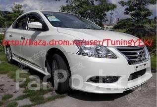 Обвес кузова аэродинамический. Nissan Sylphy, TB17 Nissan Sentra, B17 MRA8DE, HR16DE
