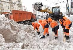 Бригада рабочих произведет уборку снега/льда.24/7. Нал. безнал.