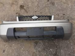 Бампер передний серый КХ4 Nissan X-Trail NT30, PNT30, T30