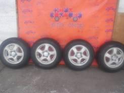 """Колеса-диски Mitsubishi с резиной Dunlop. 5.0x15"""" 5x114.30"""