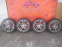 Колеса-диски RAYS с резиной Dunlop