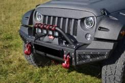 Бампер силовой передний листовой Jeep Wrangler JK 2007-2017