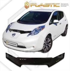 Дефлектор капота. Nissan Leaf, ZE0, AZE0 EM57, EM61. Под заказ
