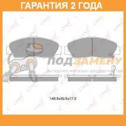 Колодки тормозные дисковые LYNX BD-3411 LYNX / BD3411. Гарантия 24 мес.