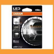 Снят с производства Комплект ламп W5W 12V 1W W21x95d Ledriving premium W5Wхолодный белый6000K 2шт(1к-т) Osram / 2850CW02B