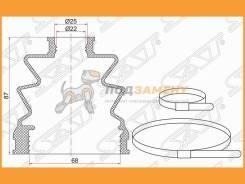 Пыльник ШРУСа внутренний FR MMC ASX 10- 1,6 SAT / BKFD023, правый передний