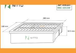 Фильтр воздушный 4NC1011W NITTO 4NC1011W