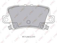 Колодки тормозные дисковые LYNXauto BD3432