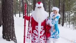 Пригласи сказку в дом от 1000 р дедушку мороза и снегурочку