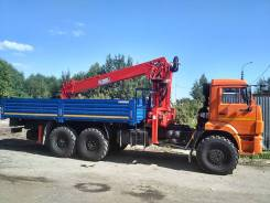 Horyong Sky. Бортовой Камаз 43118 с манипулятором 8 тонн КМУ Horyong HRS216, 11 762куб. см., 10 000кг., 6x6
