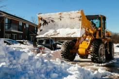 Уборка снега, вывоз снега, самосвалы, экскаваторы, грузчики.