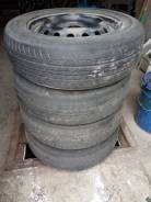 Комплект летних колес 175/65r14 на штанповках.